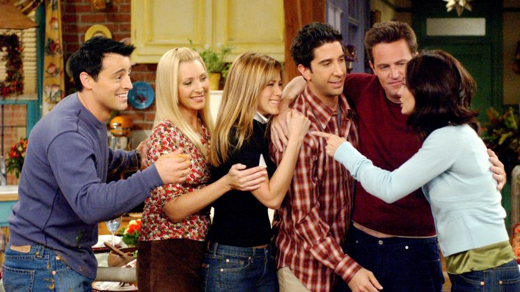 Jennifer Aniston, Courteney Cox, Lisa Kudrow, David Schwimmer, Matthew Perry and Matt LeBlanc were paid $1 million per episode during seasons nine and ten. (Photo: Release)