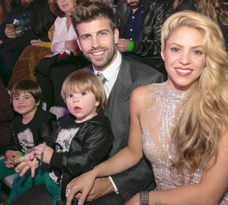 She is part of a power couple. Shakira and her partner of almost 10 years, Gerard Piqué, are the Hispanic world's David and Victoria Beckham. (Photo: Instagram)