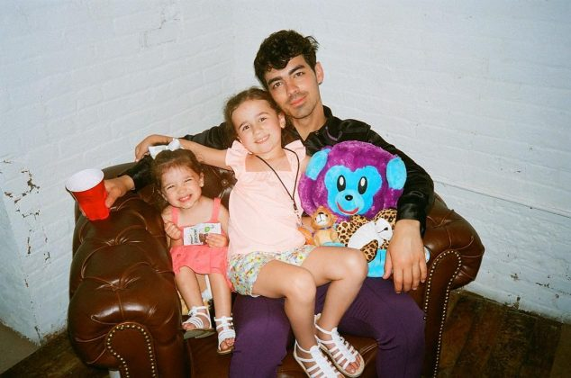 Joe has had plenty of practice with kids being around Kevin's daughters, Valentina and Alena. (Photo: Instagram)