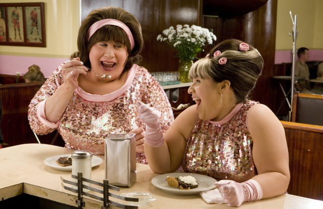 People wondered why John Travolta was cast as Edna Turnblad in 'Hairspray' when the role should've gone by a man in drag, like in the original film. (Photo: WENN)