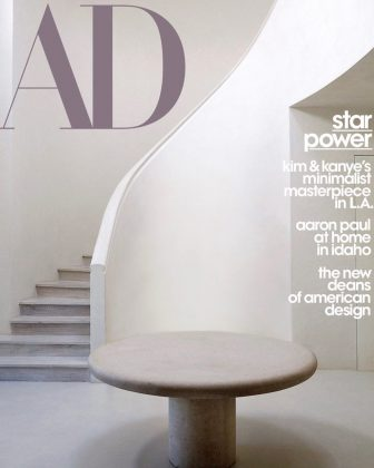 Their minimalist family home was featured in the cover for the AD March 2020 issue. (Photo: Instagram)
