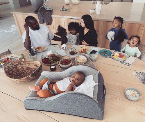 """This house may be a case study, but our vision for it was built around our family,"" Kanye said. (Photo: Instagram)"