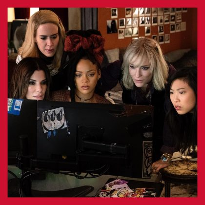 """From early work like """"Bring It On: All or Nothing"""" to her latest lead role in """"Ocean's 8"""", Rihanna Has proved she has wat it takes to make it in the acting world. (Photo: Instagram)"""