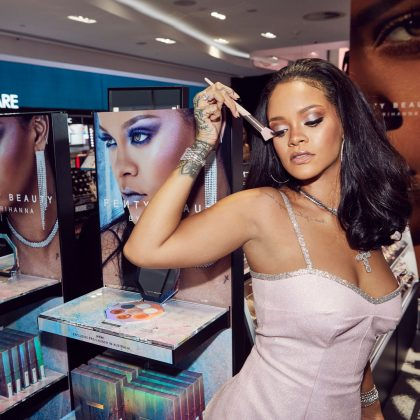 The world was introduced to Fenty Beauty in 2017. Since its launch, the brand has been praised for its inclusivity and has become one of the best sellers in Sephora. (Photo: Instagram)