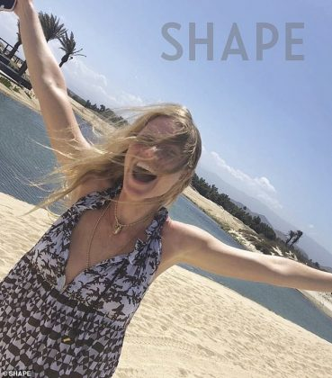 She needs self care time: Through her GOOP site, she has shared how to de-stress at home (Photo: SHAPE MAGAZINE)