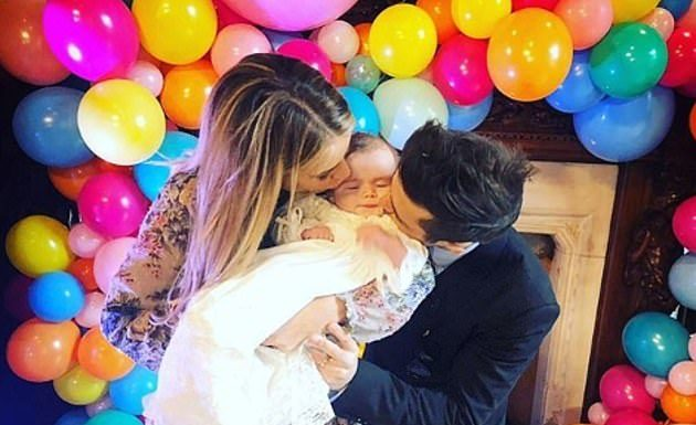 Vogue and Spencer announced they were expecting their second child together, a girl, in March after welcoming their son Theodore in September 2018 (Photo: Instagram)