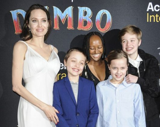 The 45-year-old actress explained how she boarded the film after one of her children brought the book to her attention. Together Jolie and Brad Pitt have six children: Maddox, 19, Pax, 16, Zahara, 15, Shiloh, 14, and twins Knox and Vivienne, 12 (Photo: Wenn)