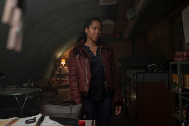 Regina King took out Watchmen's first award of the evening for Best Lead Actress in a Limited Series or Movie.(Photo: HBO/Binge)