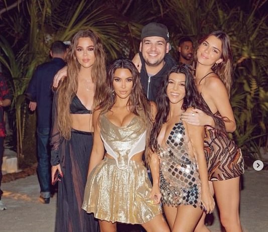 Kim Kardashian gave fans an inside look at her private island birthday celebrations on Tuesday (Photo: Instagram)