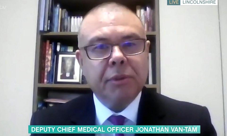 Deputy chief medical officer Jonathan Van-Tam suggesting the UK's critics were jealous of the speed at which the UK had moved (Photo: Twitter)