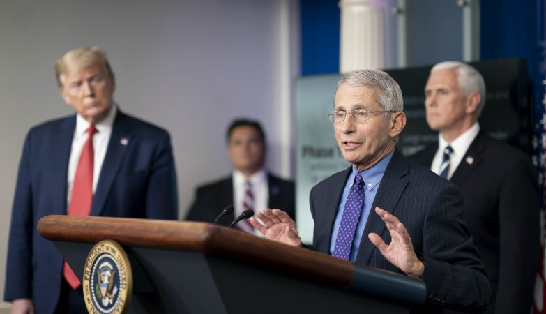 Critics included the US Covid supremo Anthony Fauci, who warned it may put people off getting it (Photo: Twitter)