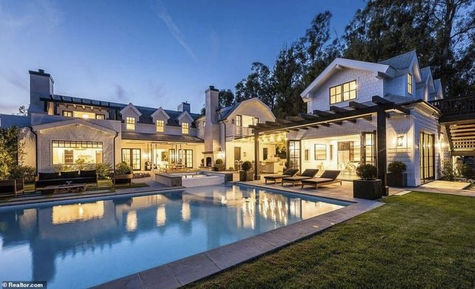 The Southern California home was first placed on the market in July 2020 for $14million (Photo: Realtor)