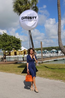 Camila Alves at Art Basel, Audemars Piguet lunch in Miami (Photo: JETSS)