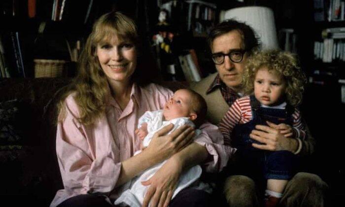 Mia Farrow, Dylan Farrow, Woody Allen and Ronan Farrow. (Photo: Courtesy of HBO)