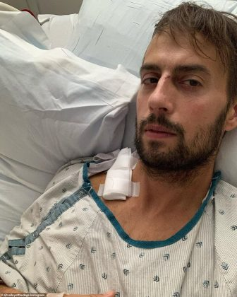 Ryan Fischer, 30, had been walking Gaga's dogs Koji, Miss Asia and Gustav in West Hollywood at around 10pm on February 24 when he was shot in the chest (Photo: Instagram)