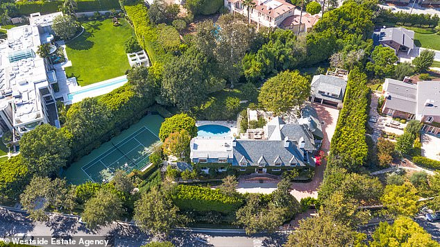 According to the Westside Estate Agency , where the home is being listed, Ellen and Portia 'completely renovated' the already jaw-dropping home in 2020 (Photo: Westside Estate Agency)
