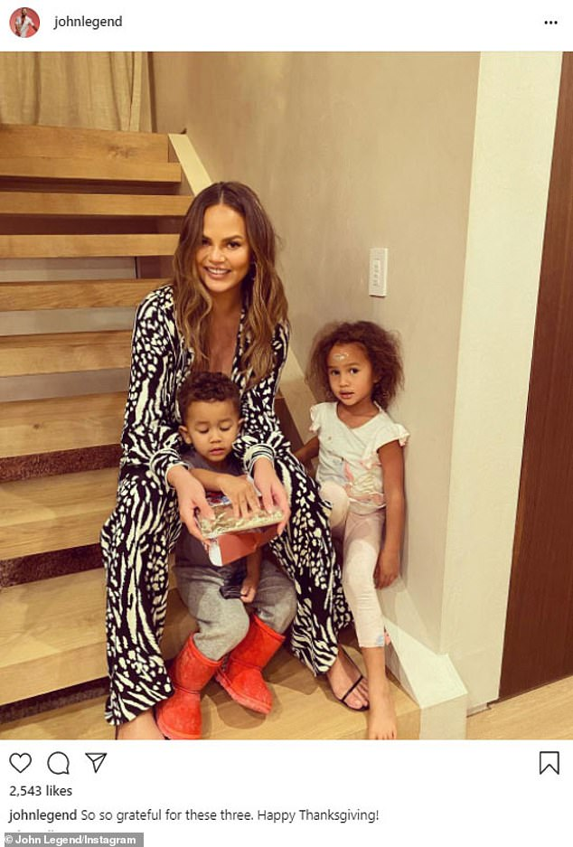 Chrissy Teigen says 'coming to terms' with not being able to carry another child has been 'difficult' (Photo: Instagram)