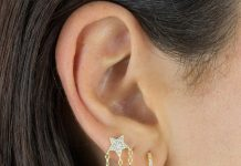 Evoke the look of shooting stars with Adina's CZ Celestial Charms Stud Earring (Photo: Release)